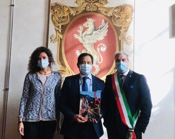 Perugia, l'ambasciatore di Taiwan in Italia in visita a Perugia