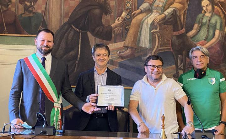 """All'Acd Calcio Magione la """"Stella dello sport magionese 2020"""""""