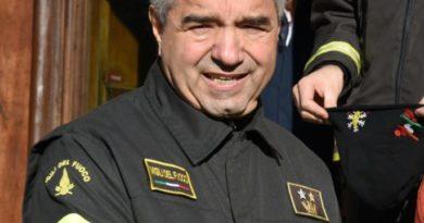 Va in pensione ing. vigili fuoco Maurizio Fattorini