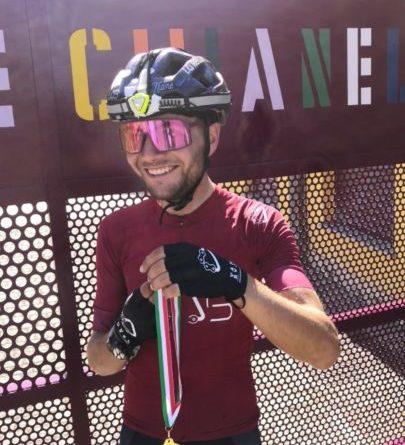 L'impresa di un giovane marscianese: 700 km in bici per raccogliere fondi