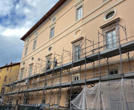 Art Bonus Perugia, completata la manutenzione della facciata del Teatro Morlacchi