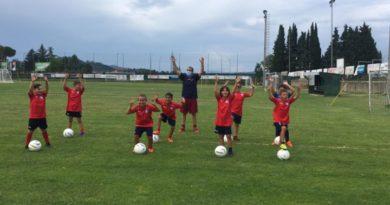 Il Castel del Piano svela la 'ricetta' della Scuola Calcio