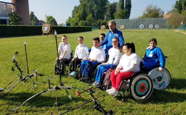 Arcieri Città di Terni, da giovedì la Nazionale giovanile Paralimpica