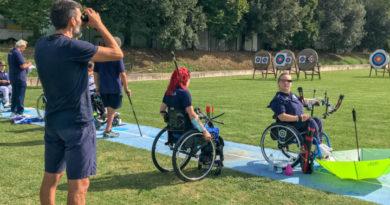 La Nazionale giovanile Paralimpica all'Archery Training Center di Terni