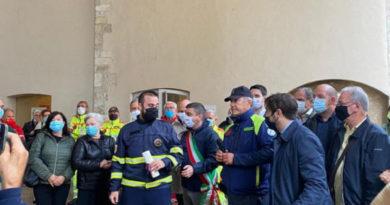 Narni, premiati carabinieri e volontari Prociv-Arci per sventato suicidio