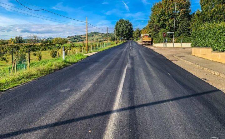 Viabilità, lavori in corso della Provincia sulla Sp 201 Montone-Pietralunga