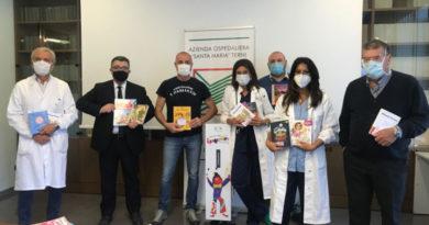 Ospedale di Terni, pluridonazione dell'associazione I Pagliacci per la Pediatria e non solo
