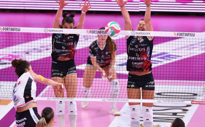 Volley, la Bartoccini Fortinfissi Perugia conquista la prima vittoria stagionale