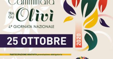 Giornata nazionale camminata tra gli olivi a Spoleto e a Trevi