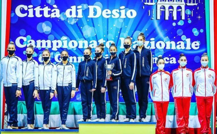 Ginnastica ritmica: promozione in serie A2 della squadra Fortebraccio Perugia