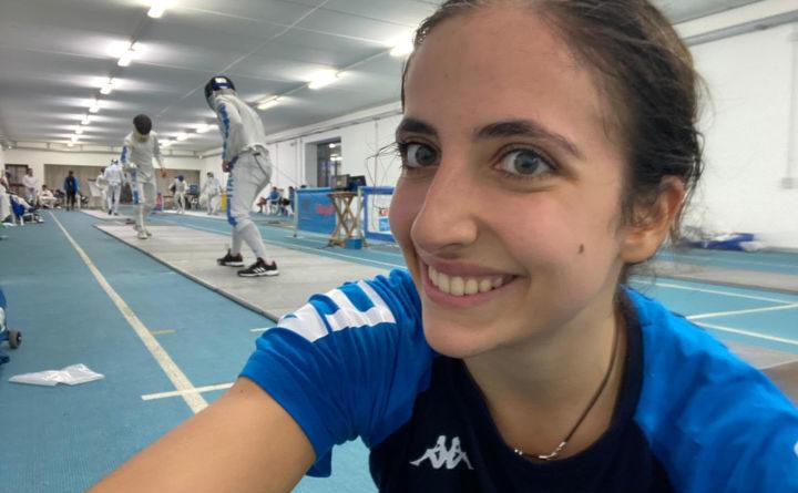 Scherma, Elena Ferracutial suo primoritiro con la Nazionale assoluta di spada