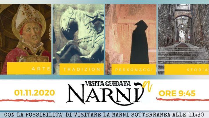 Domenica primo novembre visita guidata di Narni