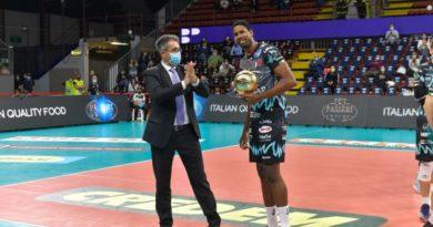 Esordio vincente in Superlega dunque per la Sir Safety Conad Perugia