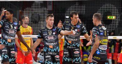 Sir Safety Conad Perugia, trasferta domenica a Piacenza per Superlega