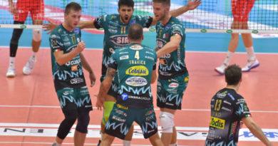 Volley, i Block Devils sbancano il PalaBanca contro Piacenza 1-3