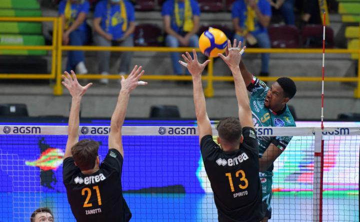 La Sir Safety Conad Perugia espugna Verona, decide Leon