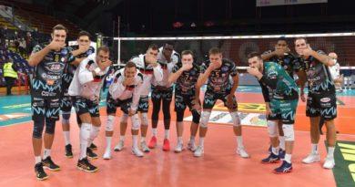 La Sir Safety Conad Perugia batte 3-0 la Consar Ravenna