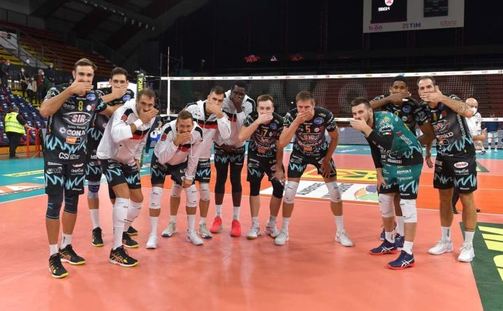 La Sir Safety Conad Perugia batte 3-0 la Consar Ravenna