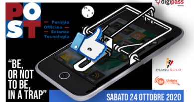 """Focus group """"Be or not to be in a Trap"""" al POST di Perugia"""