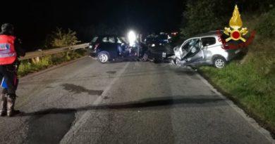 Perugia, incidente stradale sulla Pievaiola: coinvolte tre auto