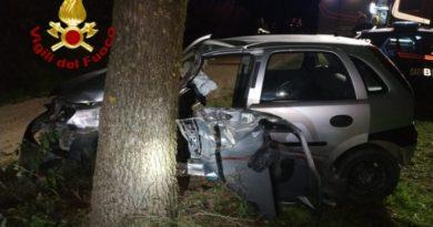 Marsciano, incidente stradale a San Biagio della Valle: due feriti