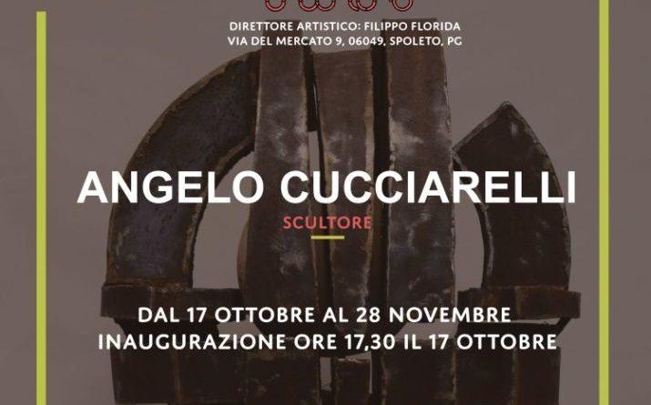 Spoleto Arte Incontro inaugura la mostra dello Scultore Angelo Cucciarelli