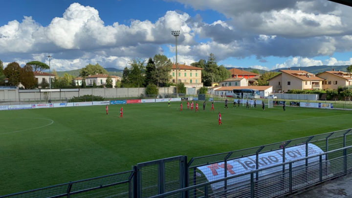 Calcio serie D girone E, il Foligno pareggia contro il Tiferno