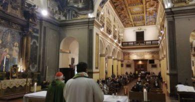 Perugia: Riaperta al culto la chiesa del Gesù con il suo nuovo rettore, don Mauro Angelini