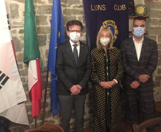 Montone, il Lions Club ha presentato il nuovo presidente di zona
