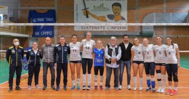Trevi Volley, a lezione con il tecnico Carmelo Pittera