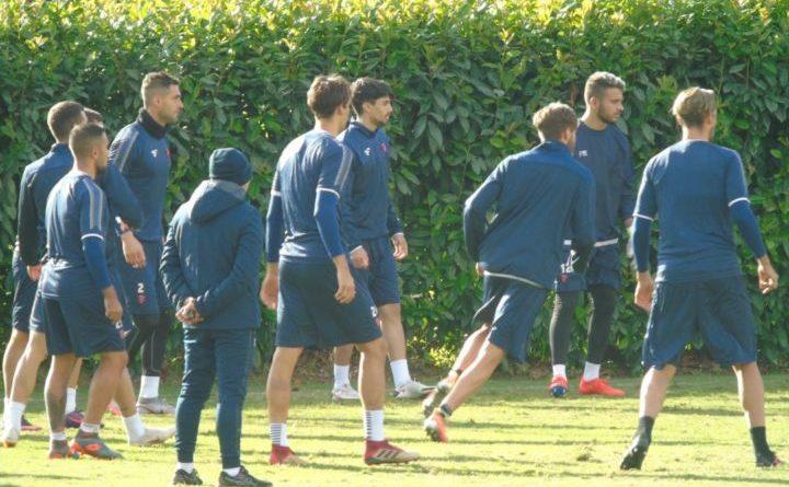 Perugia calcio, penultima seduta prima della sfida contro la Fermana