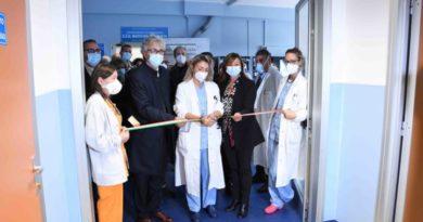 Ospedale di Terni, inaugurazione della nuova sede di Oncoematologia