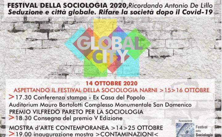 Narni, il 14 ottobre c'è Aspettando il Festival della Sociologia