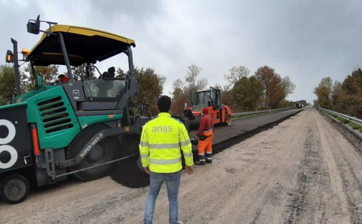 Anas, proseguono i lavori sulla SS219 di Gubbio e Pian d'Assino