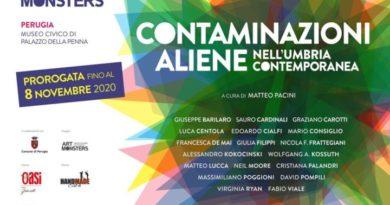 Perugia, grande successo per mostra Contaminazioni Aliene