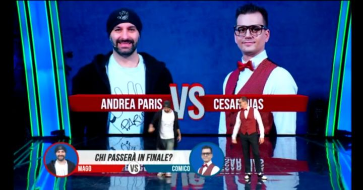 """Il folignate Andrea Paris in finale a """"Tù Sì Que Vales"""""""