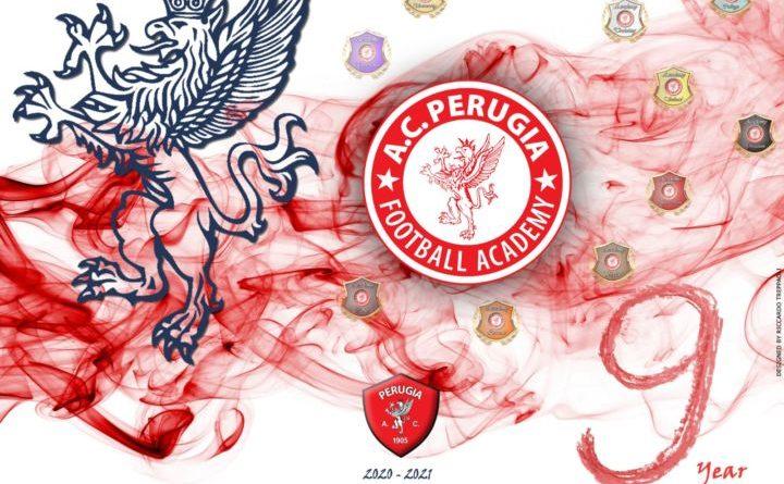 Perugia Calcio, Academy, pubblicato il nuovo cartellone della stagione 20/21