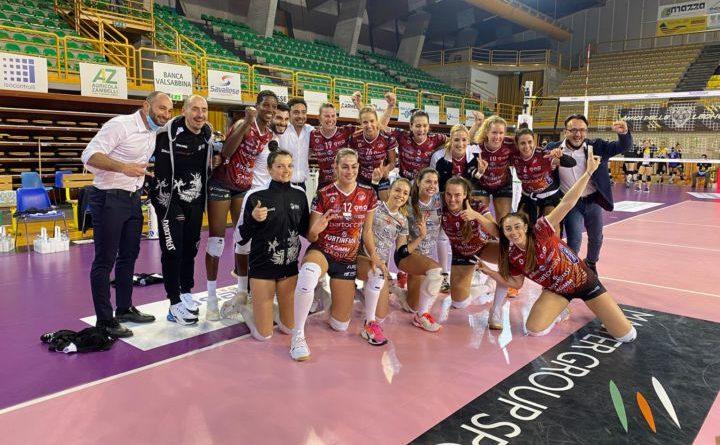Bartoccini Fortinfissi Perugia, vittoria al tie-break contro Brescia