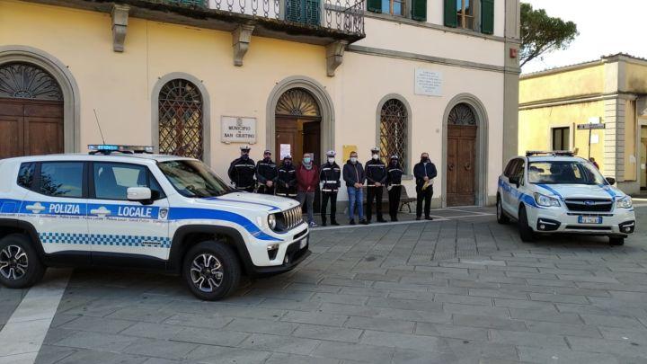 San Giustino, ampliata la flotta di veicoli della Polizia Locale
