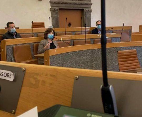 Perugia, la Giunta comunale incontra l'amministratore di Sviluppumbria Michela Sciurpa