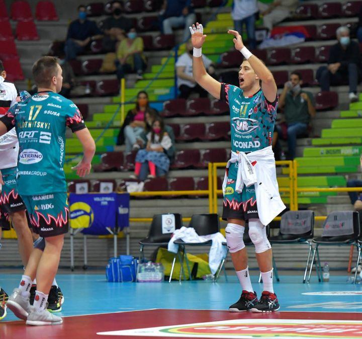 "Sir Safety Perugia, Atanasijevic: ""Non vediamo l'ora di ..."