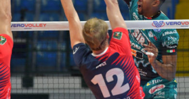 Primo stop stagionale in Superlega per la Sir Safety Conad Perugia