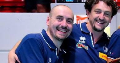 Bartoccini, Luca Nocentini ed Andrea Marconi dalla nazionale a Perugia