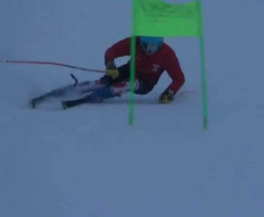 Sci alpino, esordio nel circuito internazionale per il tifernate Giacomo Meozzi