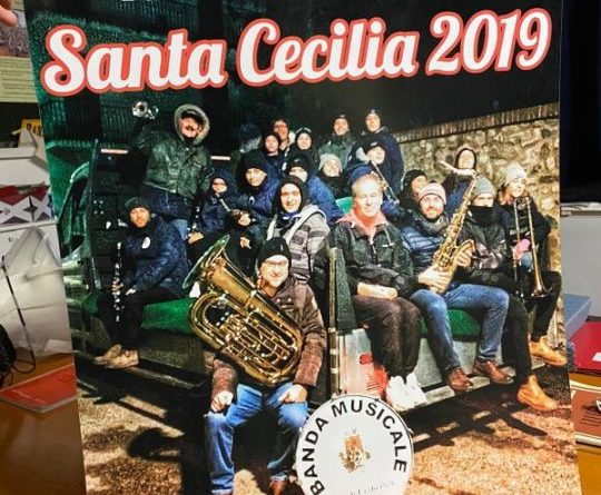 La Banda cittadina di Umbertide ha festeggiato Santa Cecilia