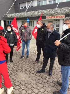 Sanità: sindacati in presidio all'ospedale di Città di Castello