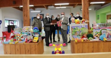 Comitato Chianelli, dai Lions di Perugia regali ai bimbi malati