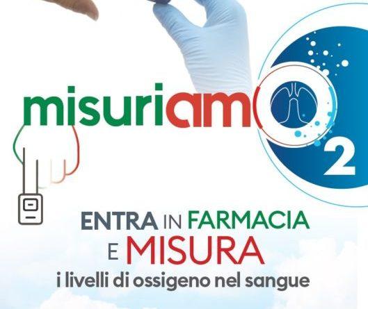 Tenere sotto controllo la saturazione arteriosa, in farmacia la campagna MisuriAMO2