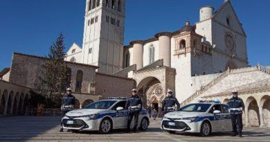 polizia vigili assisi