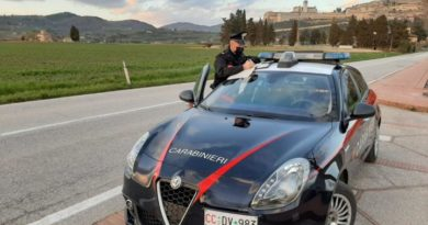 Assisi, intensa attività di controllo del territorio